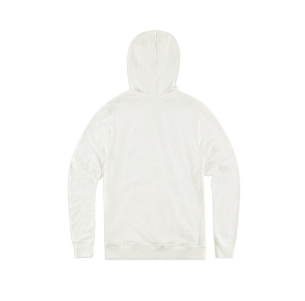 District Re-Fleece Be Kind Winter Hoodie - White