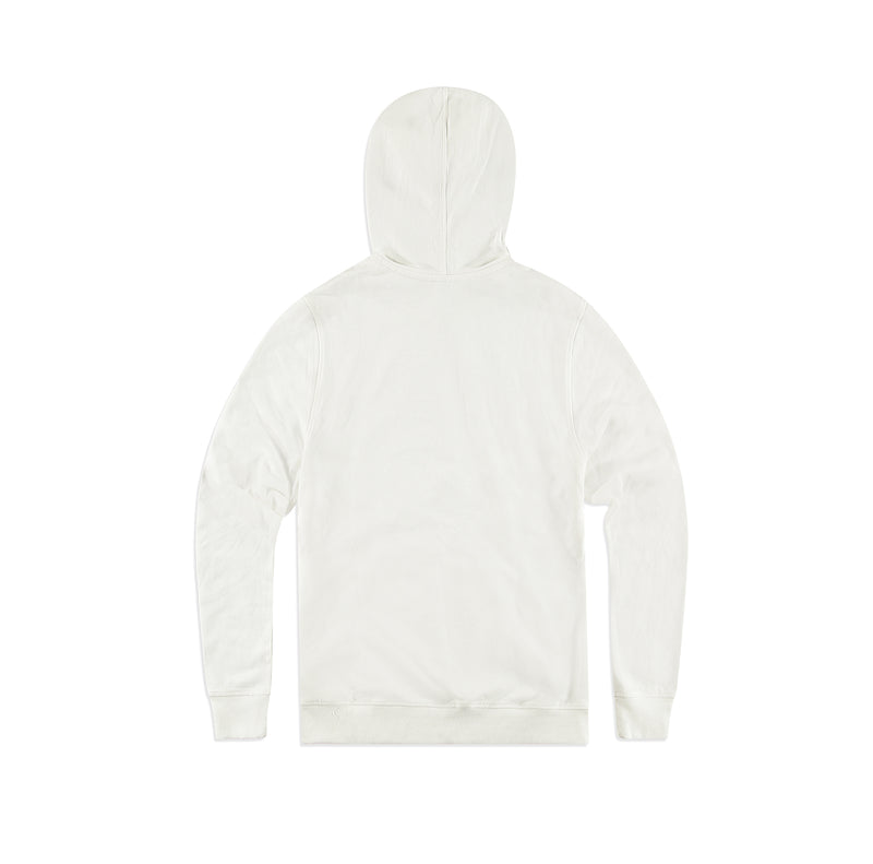 be kind to one another hoodie white - back