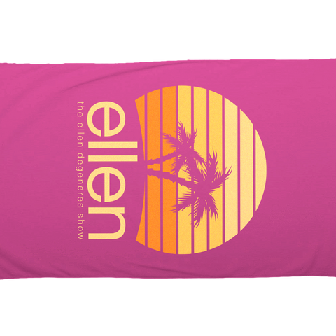 ellen Summer Beach Towel - Pink