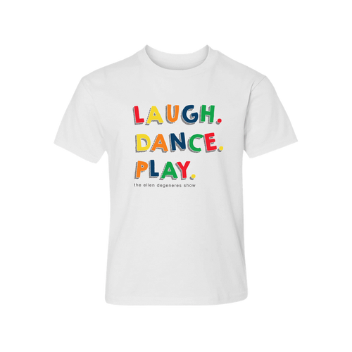 ellen Show Laugh.Dance.Play Kids Tee