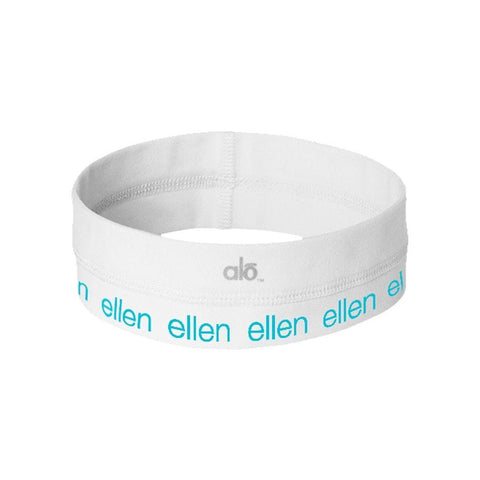Ellen Fit head band - White