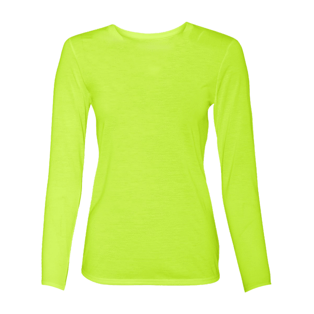 Collection Of Womens Long Sleeve Yellow Shirt 4xl Plus