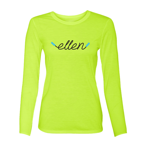 ellen Fit Long Sleeve T-shirt - Lighting Yellow