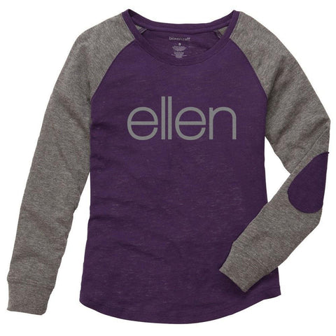 ellen Show Long Sleeve Patch Shirt