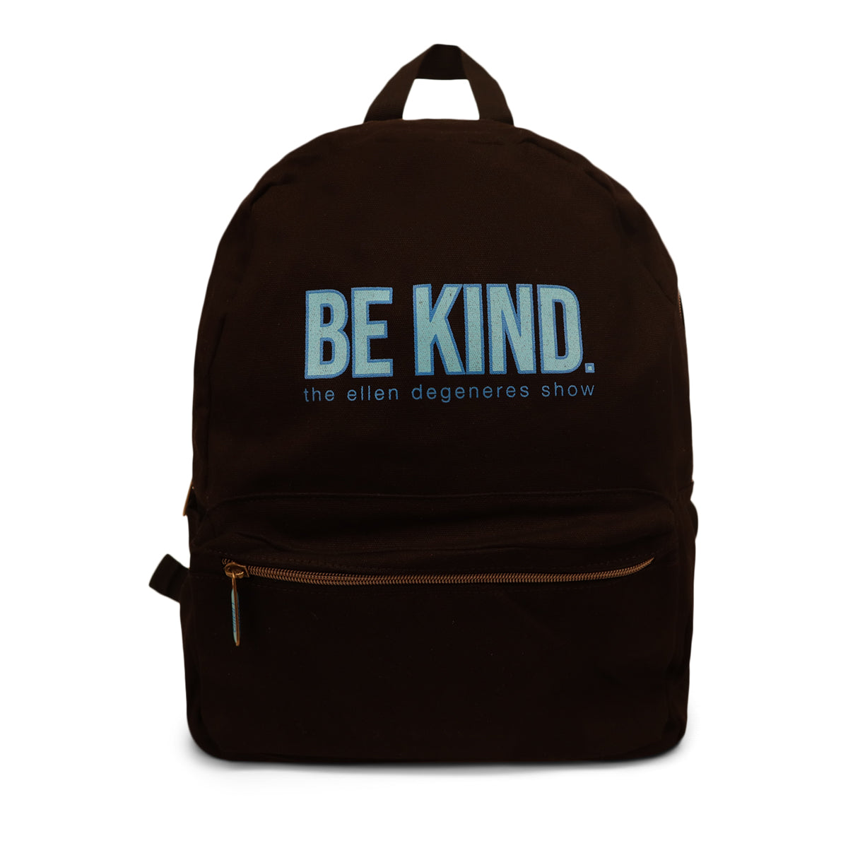 The ellen DeGeneres Show- BE KIND. Canvas Backpack- Black- Front