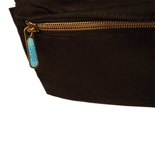 The ellen DeGeneres Show- BE KIND. Canvas Backpack- Black- Zipper Close UpFront