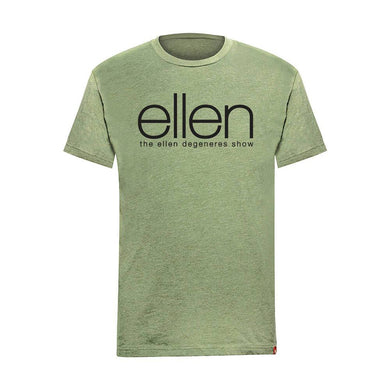 ellen Show Crew Neck T-Shirt - Green
