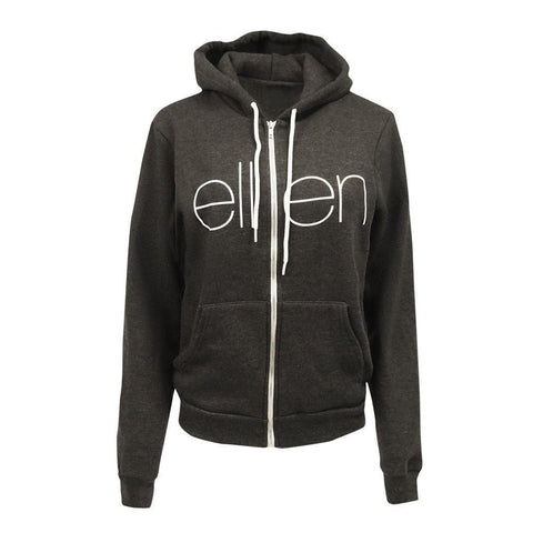 THE CLASSIC HOODIE CHARCOAL / Female - Ellen Degeneres Show Shop - 1
