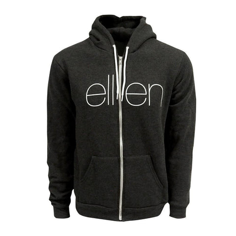 THE CLASSIC HOODIE CHARCOAL / Male - Ellen Degeneres Show Shop - 1