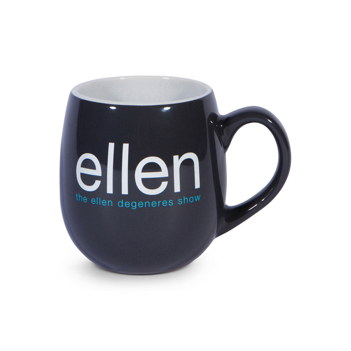 The Ellen DeGeneres Show Shop- ellen Show Set Mug - Navy - Front