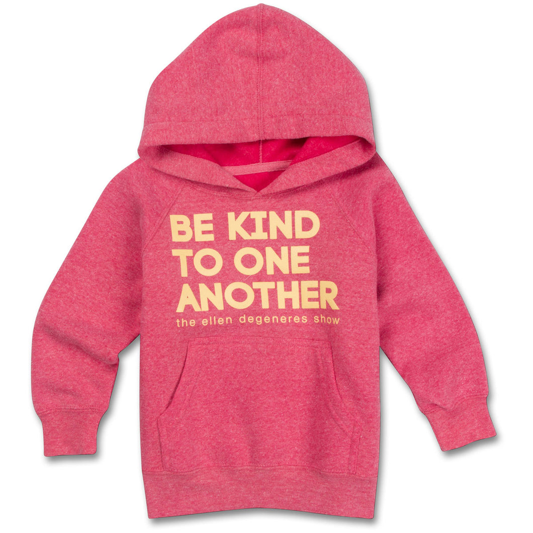 The ellen DeGeneres Show Shop-Be Kind Hoodie Kids - Red- Front