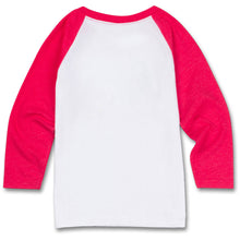 The ellen DeGeneres Show Shop-Kid's Hands Raglan- Red- Back