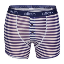 Lightweight Men's Navy & Stripe Boxers