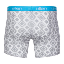ellen Show Men's Boxers Tribal Grey