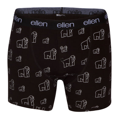The Ellen DeGeneres Show Shop - The ellen Fund™ Men's Gorilla Boxers - Black - Front