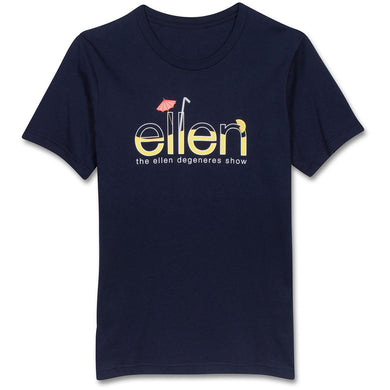 The ellen DeGeneres Show Shop-ellen Show Summer Drink Tee- Navy- Front