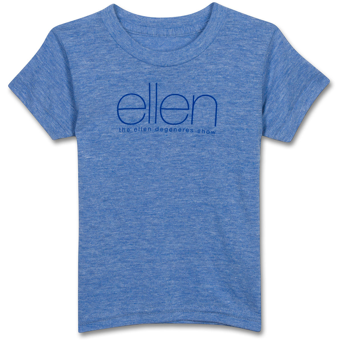 The ellen DeGeneres Show Shop-Kids Official T-Shirt- Blue-Front