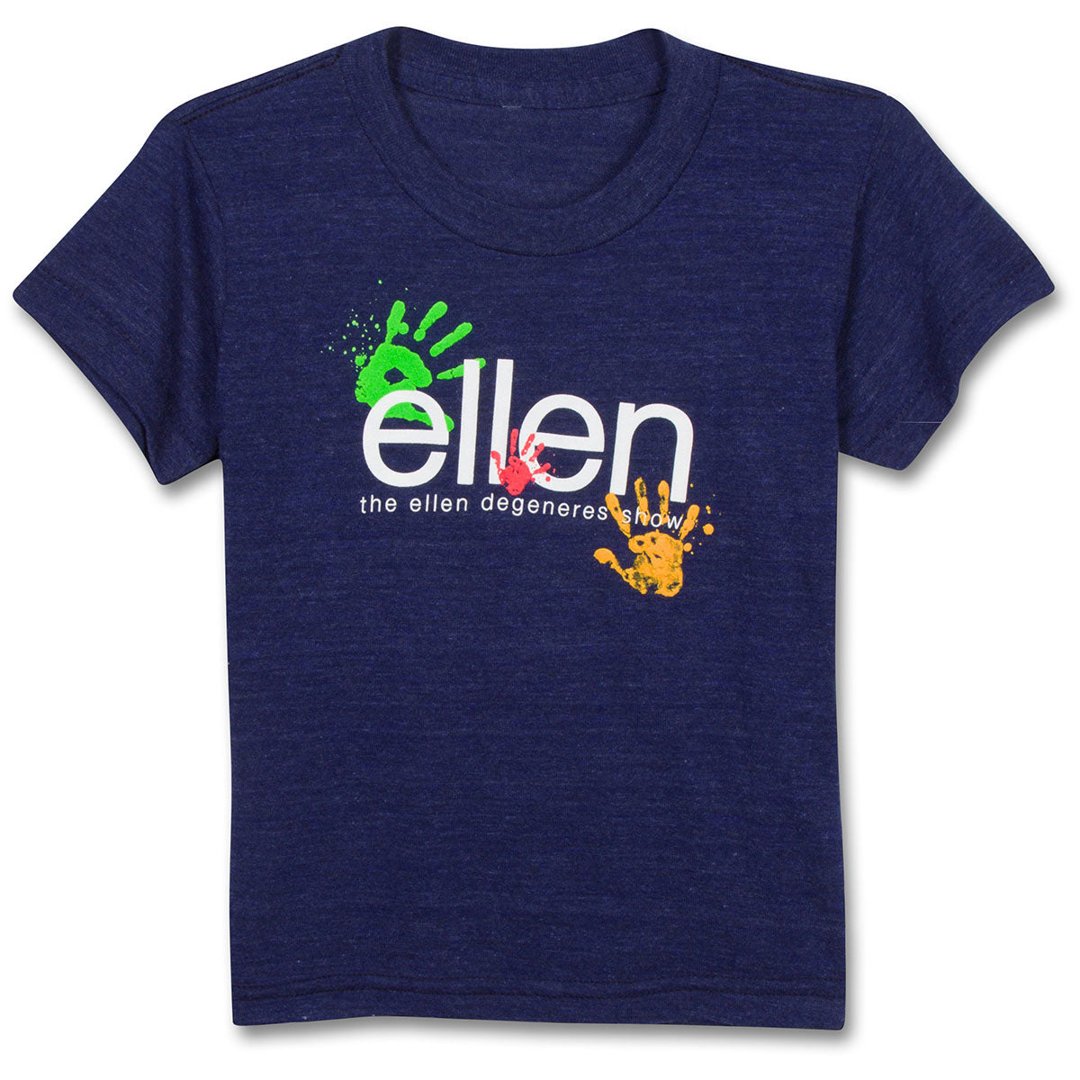 The ellen DeGeneres Show Shop-Kid's Hands Tri-blend Tee-Navy-Front