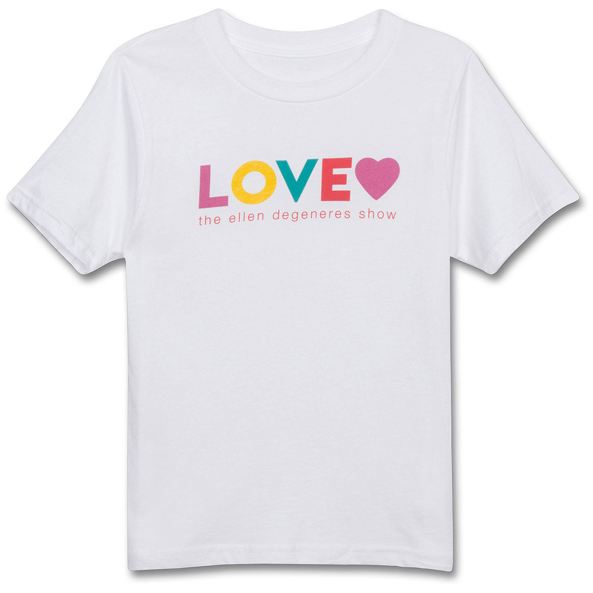 The ellen DeGeneres Show Shop- Love Youth Tee- White-Front
