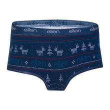 The ellen DeGeneres Show Shop-Season 16 Women's Holiday Boyshorts-Blue-Front