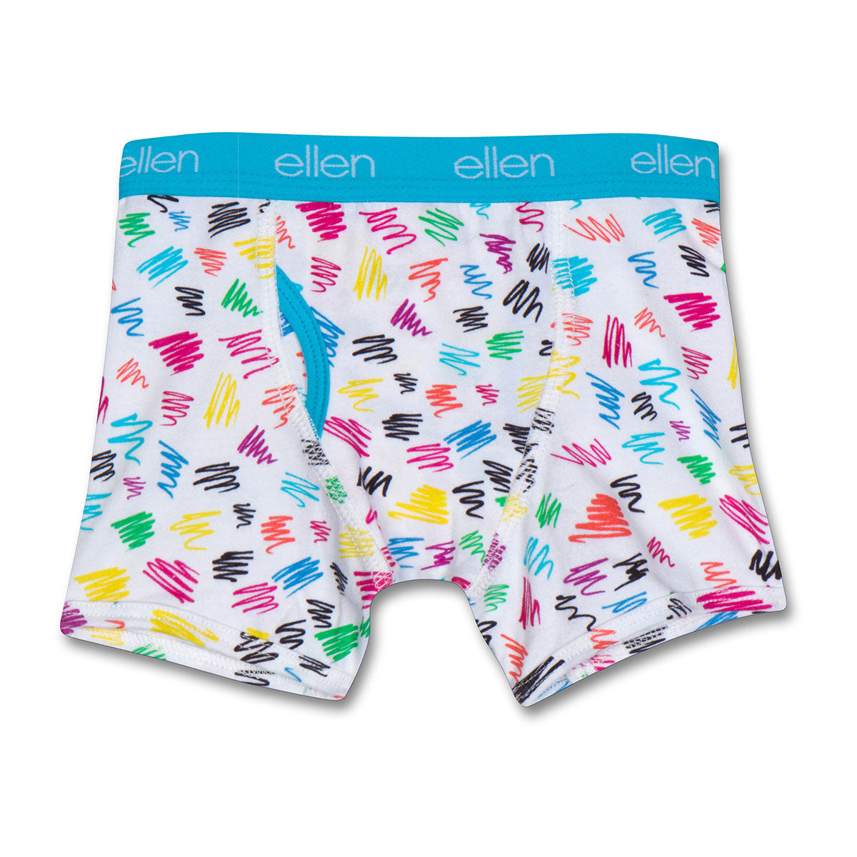 The ellen DeGeneres Show Shop-Kids Boxers - Boys-Blue-Front