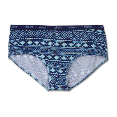 Women's Boyshorts Tribal Navy