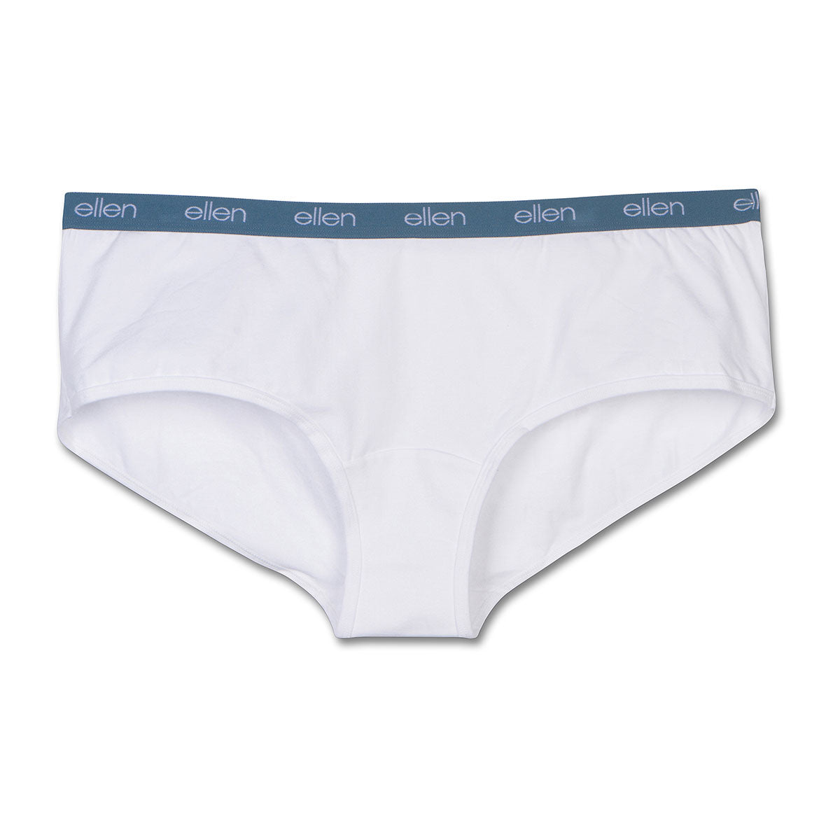 The ellen DeGeneres Show Shop-Women's Boyshorts White- White-Front