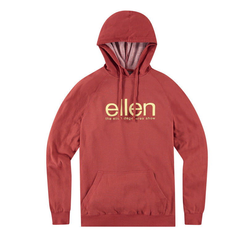 The Ellen Show Pullover Hoodie - Red