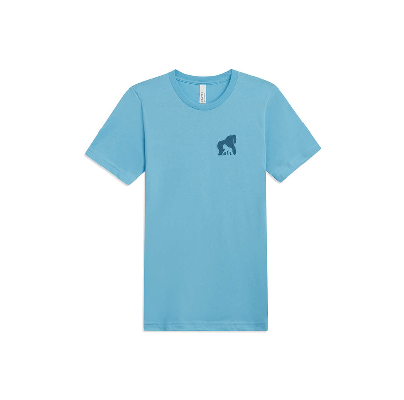 The Ellen DeGeneres Fund Gorilla Summer Tee - Blue - front