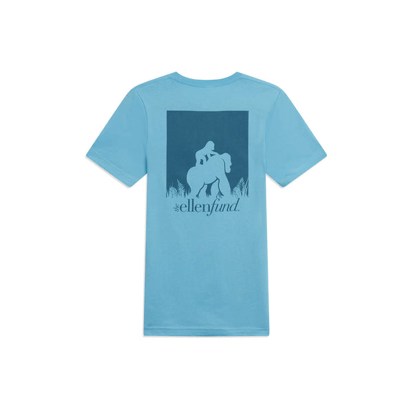 The Ellen DeGeneres Fund Gorilla Summer Tee - Blue - back