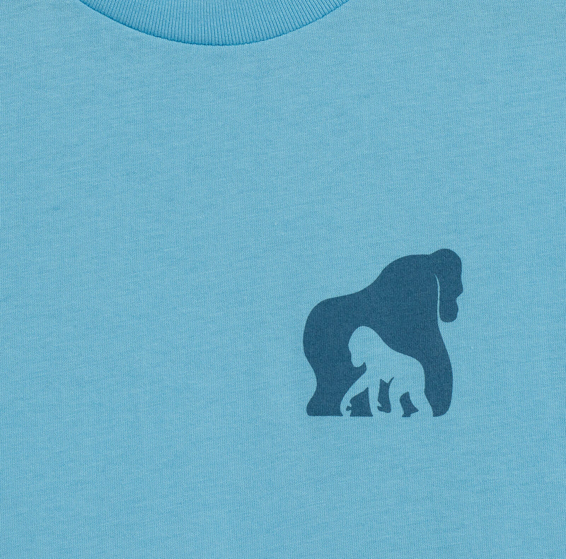 The Ellen Fund Gorilla Summer Tee - Blue