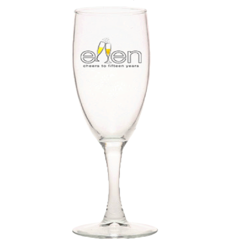 ellen Show season 15 champagne glass