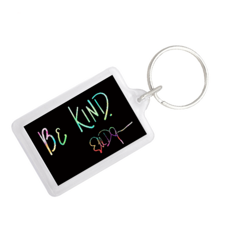 ellen Show be kind keychain