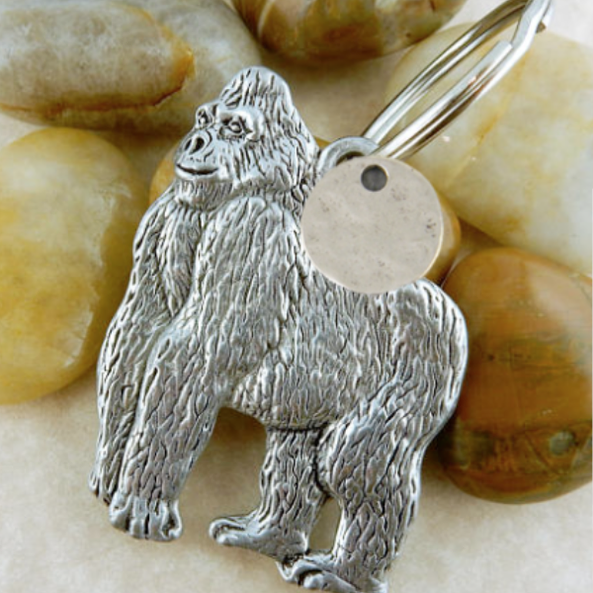 The ellen Fund Gorilla Keychain