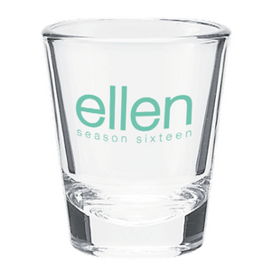ellen Show Season 16 Shot Glass