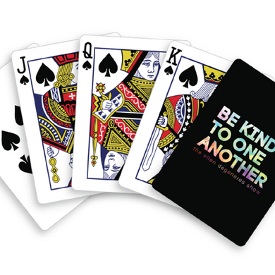 Be Kind Playing Cards