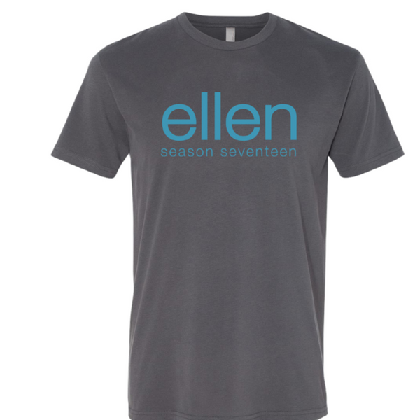 Ellen Show Season 17 Grey Crew Neck Tee