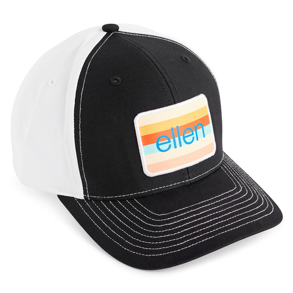 The Ellen Show Spring Hat - Black