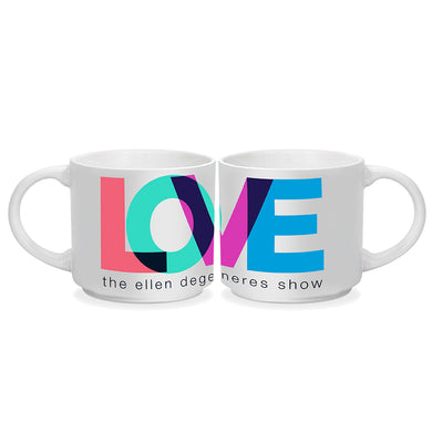 Love Month Mugs - Set of 2