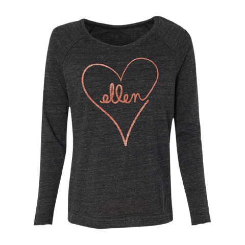 ellen Show Long Sleeve LOVE Tee