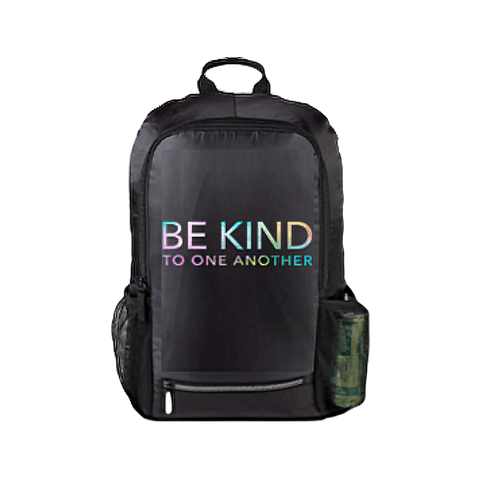 ellen Degeneres show lightweight be kind backpack