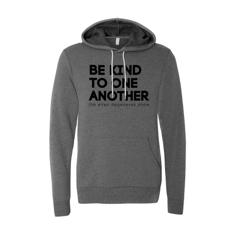 ellen Show be kind hoodie - grey