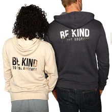 ellen Show Be Kind Zip Hoodie- Navy
