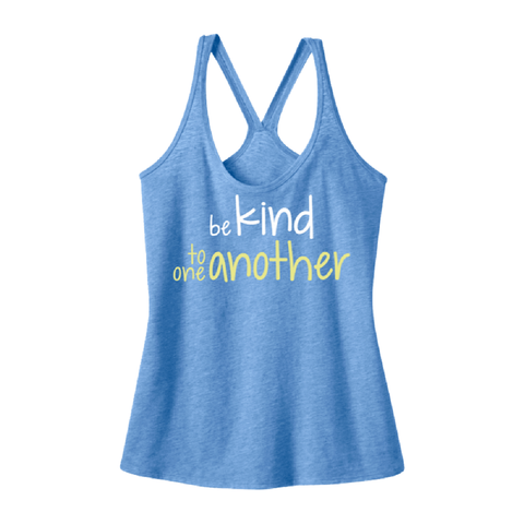 Be Kind Tank-Blue