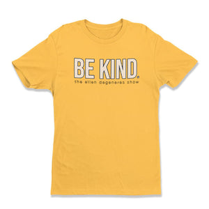 Be Kind. Yellow Tee