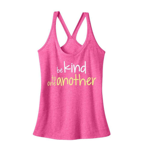 Be Kind Tank-Pink