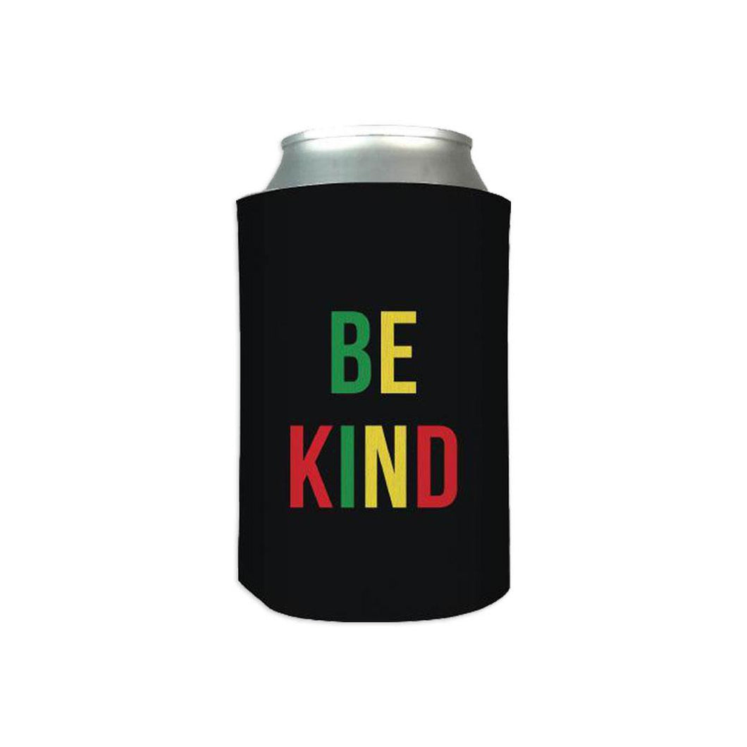 The ellen Degeneres Show Shop- Be Kind Koozie- Black- Front