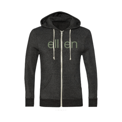 Black Holiday Zip Hoodie
