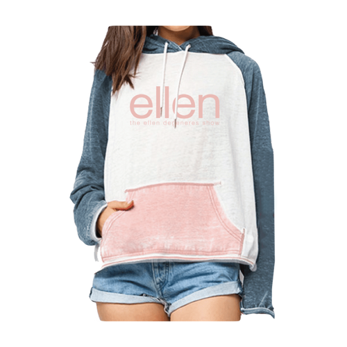 ellen Show Color Block Pullover