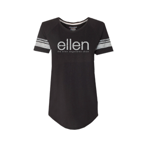 ellen Show Women's Champion Tee- Black